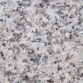 kleine Granit Aussentreppe 4 Stufen + Podest und Sockel