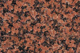 Granit Treppe Rosso Balmoral poliert