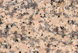 Granit Treppe Rosa Porrino poliert gewendelt