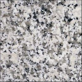 Granit Treppe Bianco Sardo poliert gewendelt