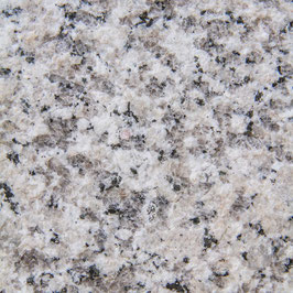 Granitstufe im Set inkl. Stellstufe und Sockel  Granit Bianco Sardo geflammt 3cm