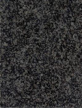 Granit Treppe original Nero Impala poliert