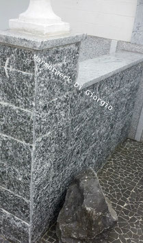 Serizzo Granit Spaltklinker,Verblender,Riemchen