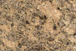 Granit Treppe Giallo Veneziano poliert gewendelt
