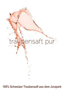 Traubensaft PUR - Rosé - 75 cl