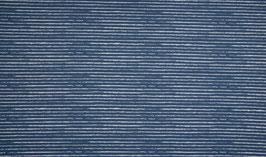 Ringel jeansblau/weiß - Baumwolljersey