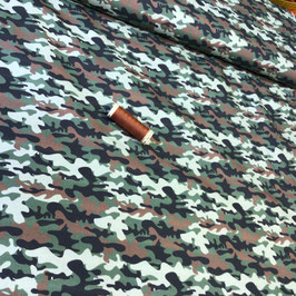 BW-Stoff Camouflage oliv-braun