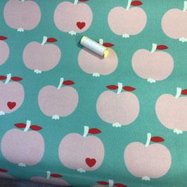 Deko Äpfel mint-rosa
