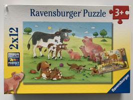 """Ravensburger Puzzle """"Glückliche Tierfamilien"""""""