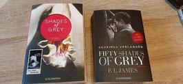 Bücher Shades of Grey 1 und 2. Teil