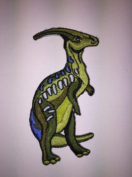 Groene Parasaurolophus dinosaurus applicatie