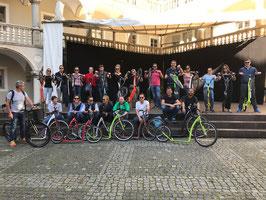 Tretroller Tour in und um Regensburg