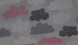 Wilmingtonprints - Wolken - grau