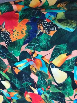 Viscose Tropical Birds