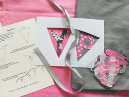 Wimpelkette zum Geburtstag selber nähen, inklusive EBook / Nähanleitung