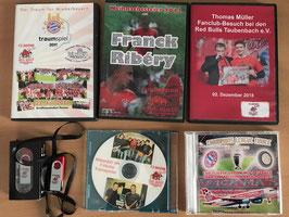 DVD von verschiedenen Vereinshighlights auch als USB Stick