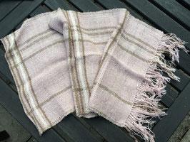 Schal in Puderrosa