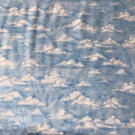 PW-Stoff Wolken-Himmel