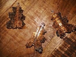kleine Metallbäumchen zum Legen oder Hängen in rosegold