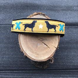 """Hundehalsband """"Labbi""""  Einzelstück"""