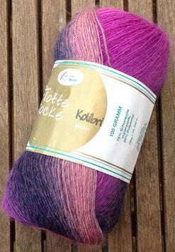 Flotte Socke Kolibi, (rosa/lila)