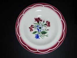 Assiettes creuses Digoin & Sarreguemines modèle Jose / Digoin & Sarreguemines shallow bowls model Jose