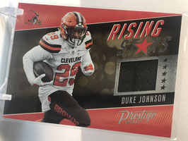 Duke Johnson (Browns) 2017 Prestige Rising Stars #50