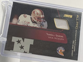 Terrell Owens (49ers) 2001 Stadium Club All Pro Jersey #SP-TO
