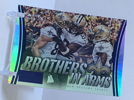 New Orleans Saints 2014 Hot Rookies Brothers in Arms Blue #BA-20