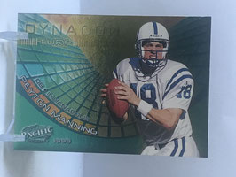 Peyton Manning (Colts) 1999 Pacific Dynagon Turf #9