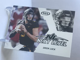 Drew Lock (Missouri) 2019 SAGE HIT Next Level #68