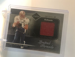 Jeff Garcia (49ers) 2003 Limited Limited Threads #LT43