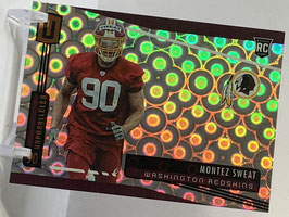 Montez Sweat (Redskins) 2019 Unparalleled GROOVE #225