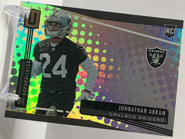 Jonathan Abram (Raiders) 2019 Unparalleled #226