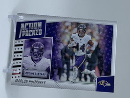Marlon Humphrey (Vikings) 2020 Rookies & Stars Action Packed #24