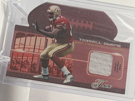 Terrell Owens (49ers) 2003 Flair Canton Calling #CC/TO
