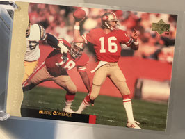Joe Montana (49ers) 1995 Upper Deck Joe Montana Box Set #13
