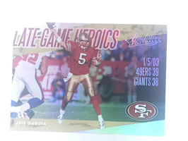 Jeff Garcia (49ers) 2018 Absolute Late Game Heroics LGH-JG