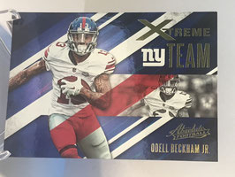 Odell Bckham Jr. (Giants) 2016 Panini Absolute Xtreme Team #7