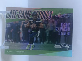 Russell Wilson (Seahawks) 2018 Absolute Late Game Heroics LGH-RW