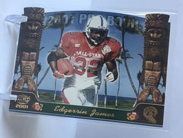 Edgerrin James (Colts) 2001 Pacific Pro Bowl Die Cuts #4