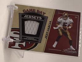 Jeff Garcia (49ers) 2004 Prestige Game Day Jerseys #GJ11
