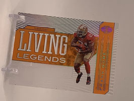 Frank Gore (49ers) 2020 Illusions Living Legends Orange #LL9