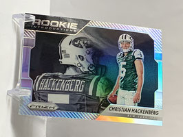 Christian Hackenberg (Jets) 2016 Prizm Rookie Introductions Silver Prizm #15