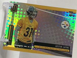 Justin Layne (Steelers) 2019 Unparalleled #263
