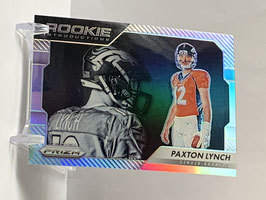 Paxton Lynch (Broncos) 2016 Prizm Rookie Introductions Silver Prizm #10