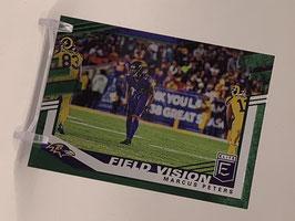 Marcus Peters (Ravens) 2020 Elite Field Vision Green #10