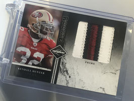 Kendall Hunter (49ers) 2011 Panini Limited Rookie Jumbo Materials Prime #15