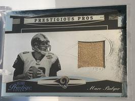 Mark Bulger (Rams) 2005 Playoff Prestige Prestigious Pros Platinum Jerseys #PP-31