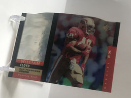 William Floyd (49ers) 1995 SP Holoview Die Cut #25